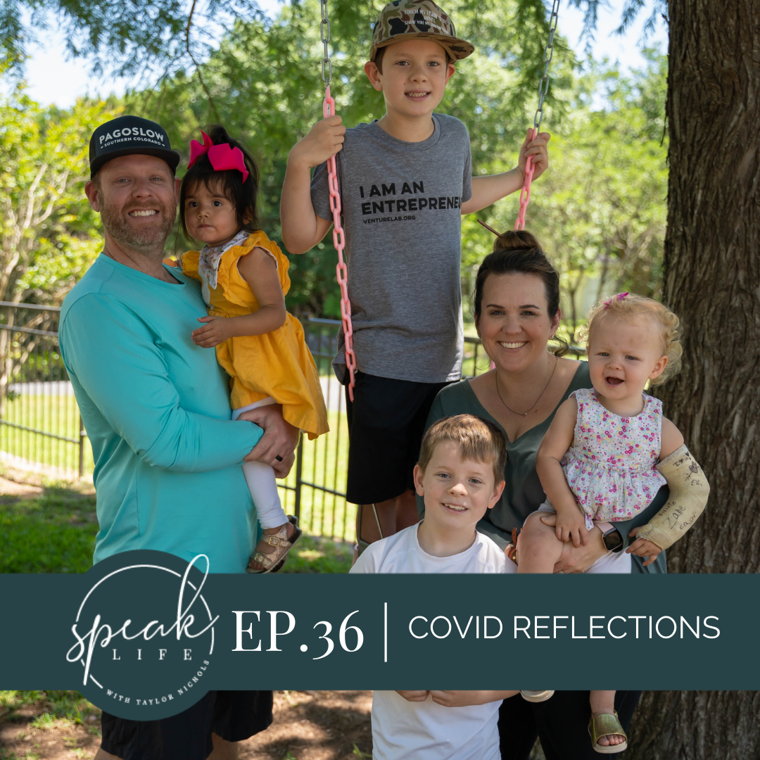Ep.36 | Covid Reflections with Dave & Taylor